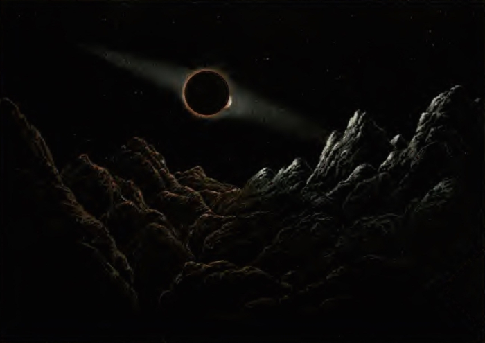 eclipse of earth